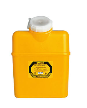 Sharps Container 8.0 litre Non-spill screw top lid
