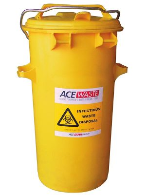 50 Litre Clinical Waste Containers